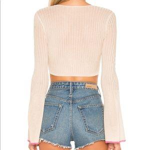 Lovers + Friends Tops - Lovers + Friends Crop Sweater